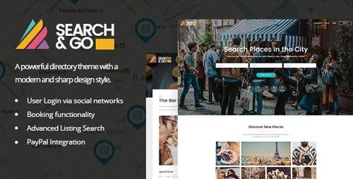 ThemeForest - Search & Go v2.3.2 - Smart Directory Theme - 15365040
