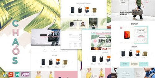 ThemeForest - Chaos v1.4.2 - Responsive Bag Shop Theme - 12067230