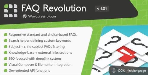 CodeCanyon - FAQ Revolution v1.01 - WordPress Plugin - 22660146