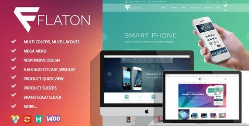 ThemeForest - Flaton v1.6 - WooCommerce Responsive Digital Theme - 14288646