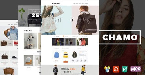 ThemeForest - Chamo v1.4.1 - Responsive WooCommerce WordPress Theme - 15595462