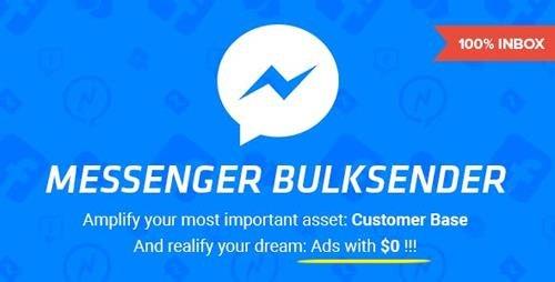 CodeCanyon - Facebook Messenger Bulksender v1.8.2 - 19344381