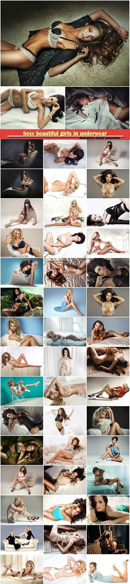 Sexy beautiful girls in underwear # 2