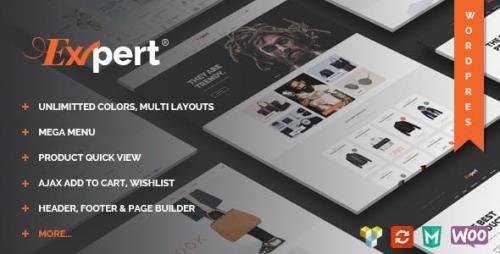 ThemeForest - Expert v1.2 - Clean eCommerce WordPress Theme - 17100286