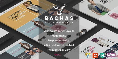 ThemeForest - Bachas v1.3.1 - Responsive WooCommerce WordPress Theme - 15619944