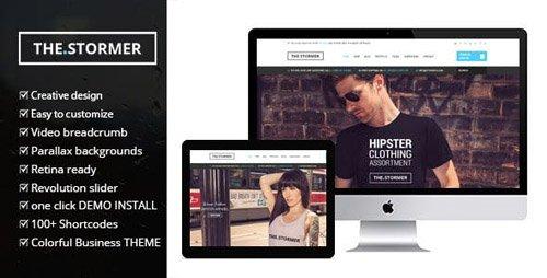 ThemeForest - Fashion Stormer eCommerce v2.0 - Fashion Apparel eCommerce Theme - 9579071
