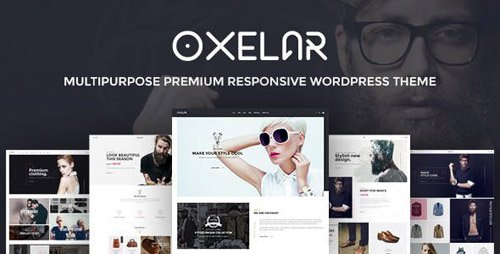 ThemeForest - Oxelar v1.2.1 - Fashion Responsive WordPress Theme - 17563729