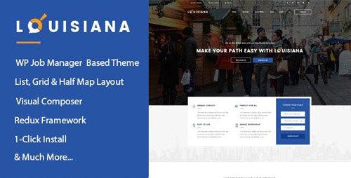 ThemeForest - Louisiana v1.1 - Responsive Listing | Directory WordPress Theme - 17701340