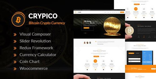 ThemeForest - Crypico v1.3 - Crypto Currency WordPress Theme - 21293963