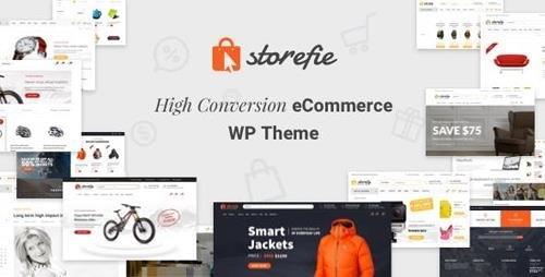 ThemeForest - Storefie v1.2.2 - High Conversion eCommerce WordPress Theme - 18908263