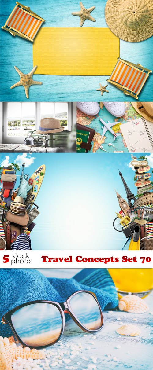 Photos - Travel Concepts Set 70