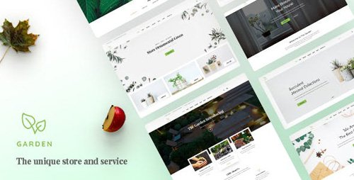 ThemeForest - Garden v1.0 - Lawn & Landscaping PSD Template - 20343783