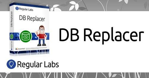 DB Replacer Pro v6.3.0 - Search and replace in your Joomla database