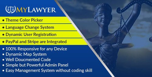 CodeCanyon - MyLawyer v1.0 - Dynamic Lawyer Directory System Script - 19748161 - NULLED