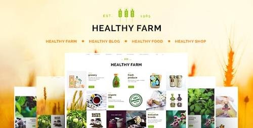 ThemeForest - Healthy Farm v2.3 - Food & Agriculture WordPress Theme - 10241920