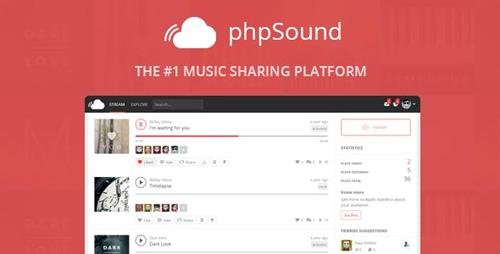 CodeCanyon - phpSound v4.5.0 - Music Sharing Platform - 9016117