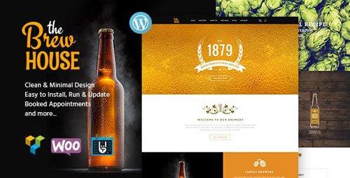 ThemeForest - The Brew House v1.5 - Brewery / Pub / Restaurant WordPress Theme - 18770858