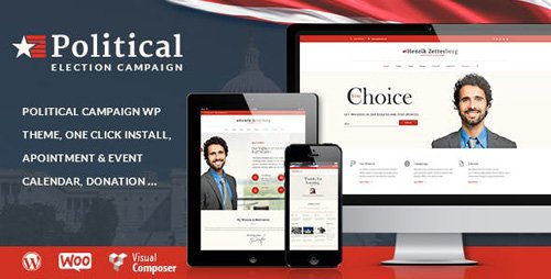 ThemeForest - Candidate v1.8 - Political / Non-profit WordPress Theme - 12163560