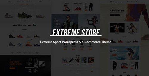 ThemeForest - Extreme v1.4 - Sports Clothing & Equipment Store WordPress Theme - 17110275