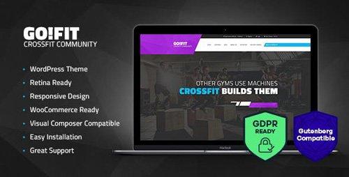 ThemeForest - GoFit! v1.2 - Fitness, Gym and Crossfit WordPress Theme - 17704112