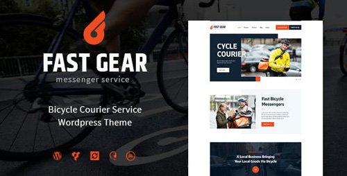 ThemeForest - Fast Gear v1.1.0 - Courier and Delivery Services WordPress Theme - 19208834