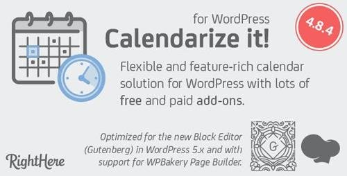 CodeCanyon - Calendarize it! for WordPress v4.8.4.88927 - 2568439 - NULLED