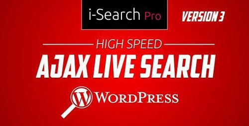 CodeCanyon - i-Search Pro v4.2.9 - Ultimate Live Search - 22147846