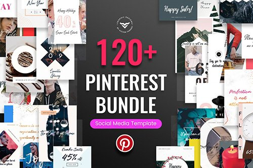 Pinterest Post Templates Bundle