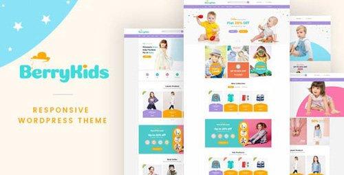 ThemeForest - BerryKid v1.3 - Baby Store WooCommerce WordPress Theme - 19108262