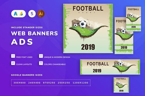 Football Banner - WH8CGET
