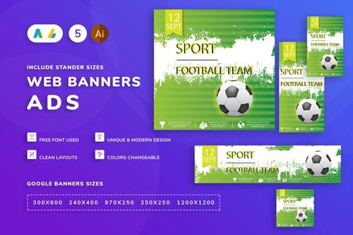 Football Banner - GFAER9L