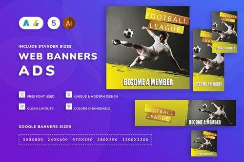 Football Banner - 7Q5NKSB
