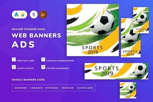 Football Banner - GLZTVJ6