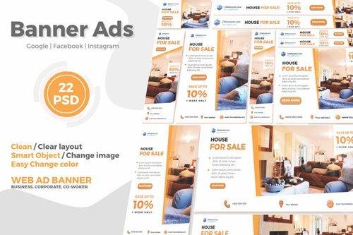 Real Estate Google Ads Web Banner V.1 - FTr