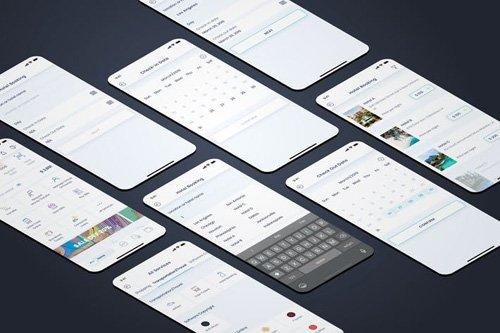 Hotel Booking - Wallet Mobile UI - FP