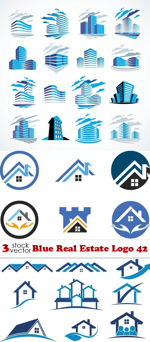 Vectors - Blue Real Estate Logo 42