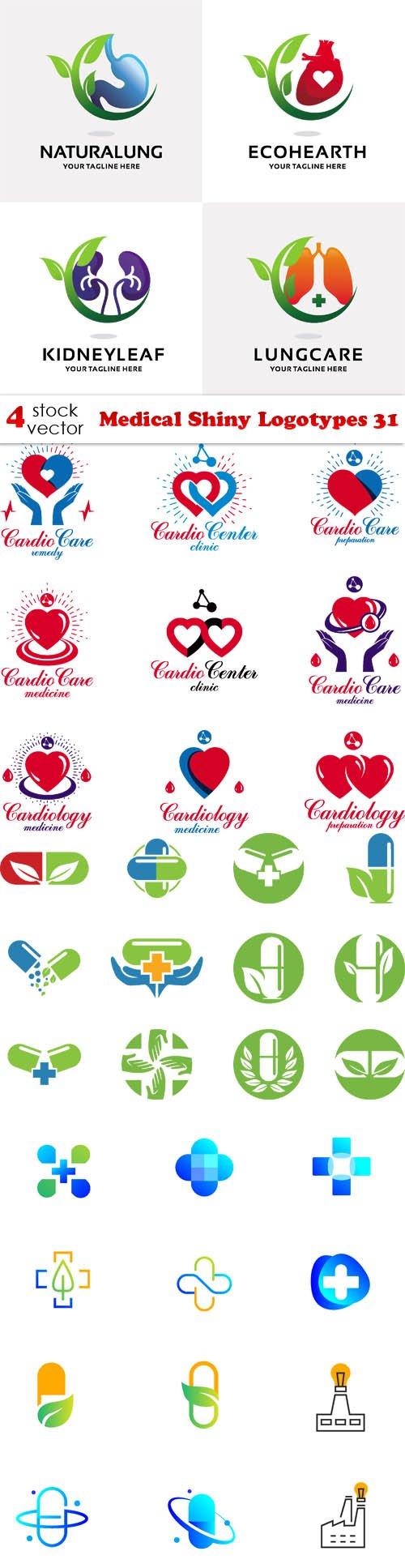 Vectors - Medical Shiny Logotypes 31