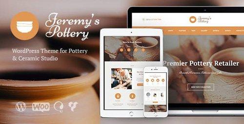 ThemeForest - Jeremy's Pottery v1.3 - Pottery and Ceramics WordPress Theme - 18029025