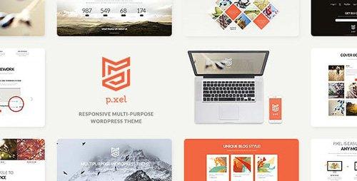 ThemeForest - Pixel v1.2 - A Modern Multi-Purpose WordPress Theme - 15454611
