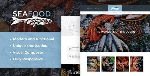 ThemeForest - Seafood v1.4 - Company & Restaurant WordPress Theme - 18013136