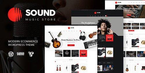 ThemeForest - Sound v1.5 - Musical Instruments Online Store WordPress Theme - 17537788