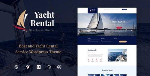 ThemeForest - Yacht Rental v1.2 - Yacht and Boat Rental Service WordPress Theme - 19296536