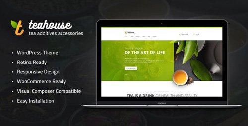 ThemeForest - Tea House v1.1 - Tea Store and Cafe WordPress Theme - 19352266