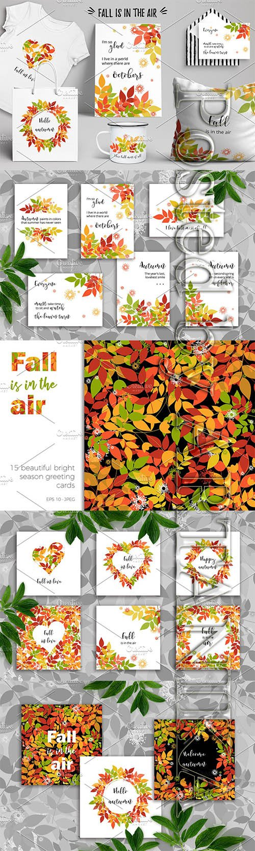CreativeMarket - Fall is in the air 2246899
