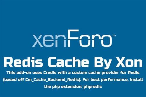 Redis Cache By Xon v2.4.2 - XenForo 2 Add-On