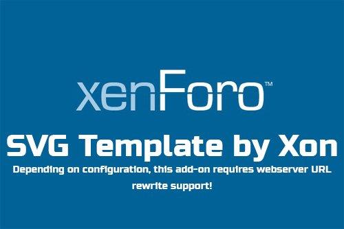 SVG Template by Xon v2.0.4 - XenForo 2 Add-On