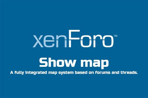Show map v1.2 - XenForo 2 Add-On