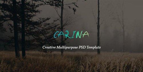 ThemeForest - Carina v1.0 - Creative Multipurpose PSD Template - 13878969