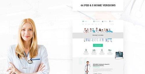 ThemeForest - Columba v1.0 - Medical PSD Template - 15819256