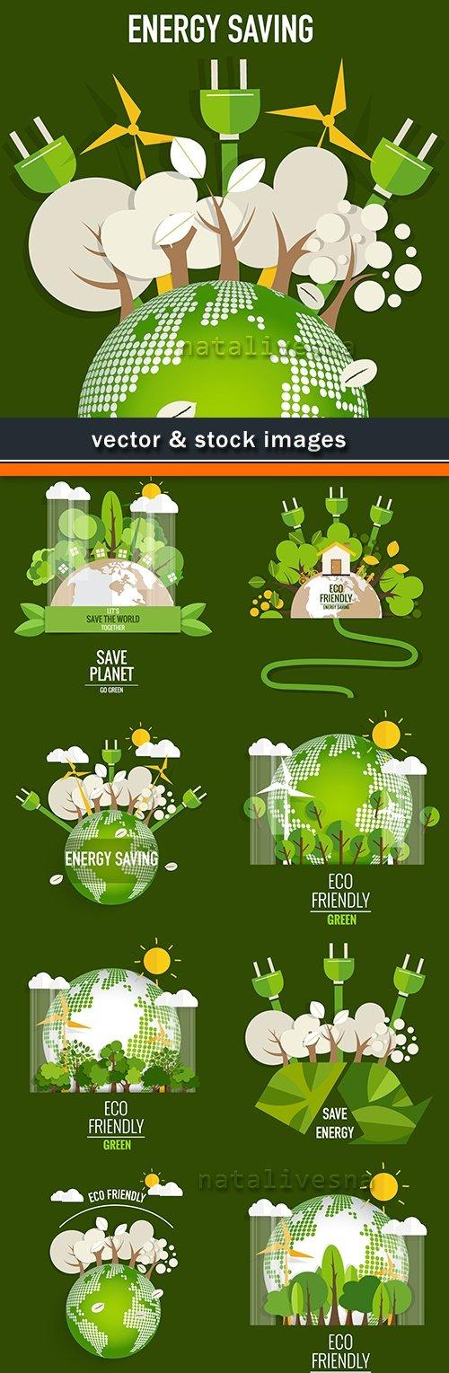 Ecological environment and bio energy green design